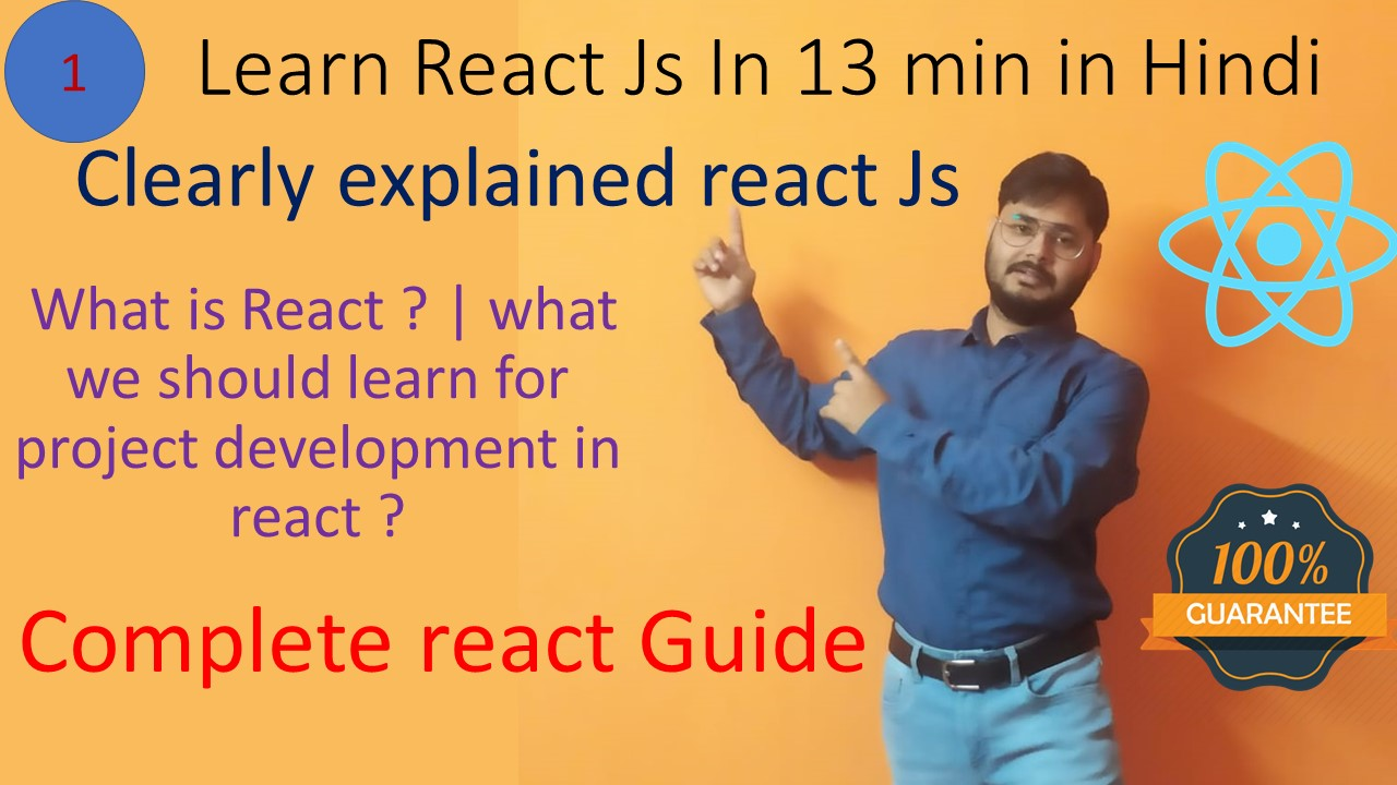 How to learn react | react js in 10 min in hindi | react in hindi | best way to learn react in hindi