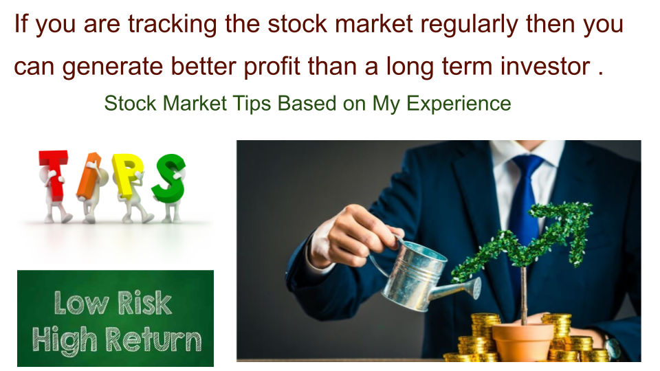 How to generate high return in stock market