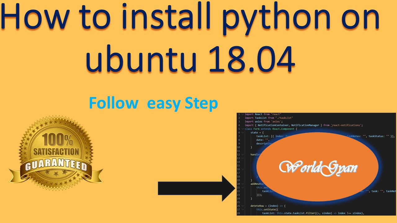 How to install python on ubuntu 18.04 ? |   Install Latest Python